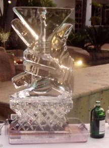 The ultimate affaire, Ice, Martini, Sculpture