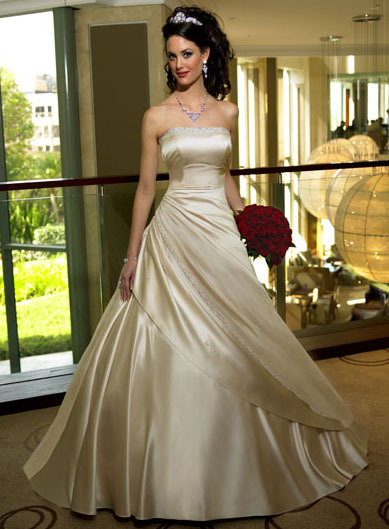 Wedding Dresses, Fashion, ivory, gold, dress, Chrissy o fashion and bridal boutique