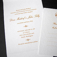 Stationery, orange, Invitations, Papel vivo