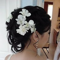 Beauty, Flowers & Decor, Down, Flowers, Hair, Up, Half