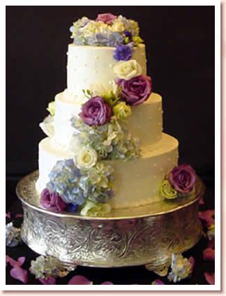 Cakes, purple, blue, cake, Cinderella cakes