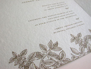 Stationery, Invitations, Leaf, Papel vivo