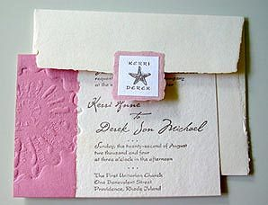 Stationery, pink, Beach, Beach Wedding Invitations, Invitations, Papel vivo