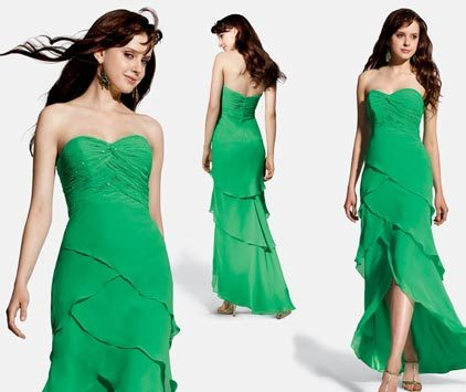 Bridesmaids, Bridesmaids Dresses, Sweetheart Wedding Dresses, Fashion, green, Sweetheart, Chrissy o fashion and bridal boutique