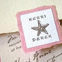 Stationery, pink, Invitations, Papel vivo, Seal, Starfish