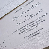 Stationery, white, Invitations, Papel vivo