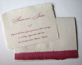 Stationery, pink, Invitations, Papel vivo