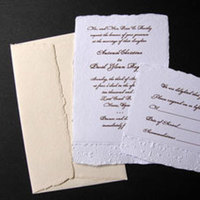 Stationery, Invitations, Papel vivo