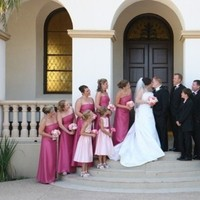 pink, Bridesmaids, Groomsmen, Fashion, Bridesmaids Dresses