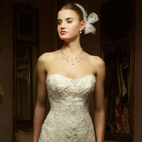 Wedding Dresses, Sweetheart Wedding Dresses, Lace Wedding Dresses, Fashion, dress, Lace, Sweetheart, Casablanca bridal