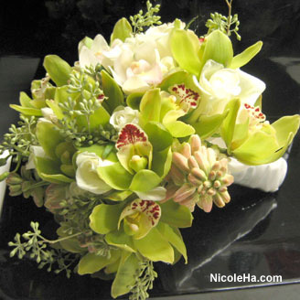 Flowers & Decor, green, Bride Bouquets, Flowers, Bouquet, Nicole ha