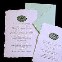 Stationery, green, invitation, Invitations, Papel vivo