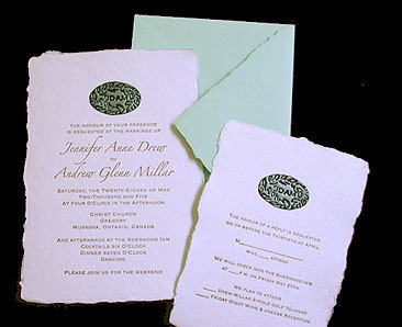 Stationery, green, invitation, Invitations, Papel vivo