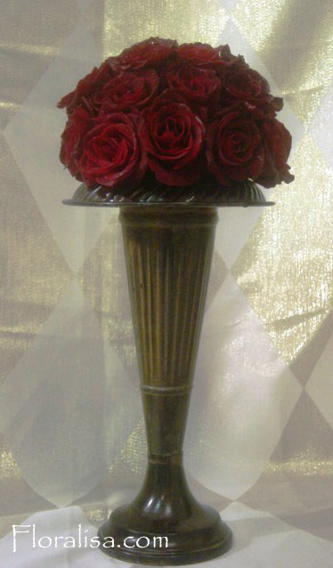 Flowers & Decor, red, Centerpieces, Flowers, Centerpiece, Rose, Floralisa weddings
