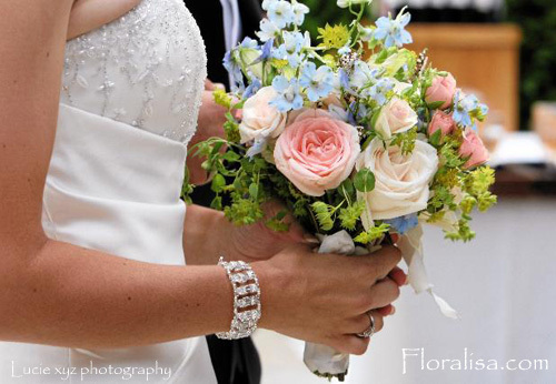 Flowers & Decor, pink, blue, Flowers, Floralisa weddings