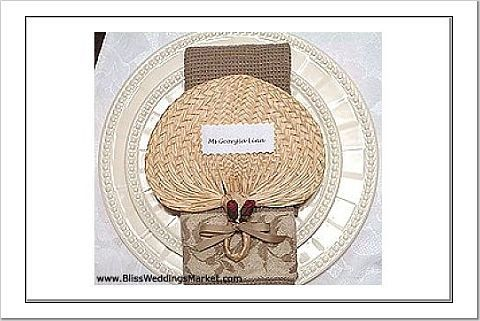 Reception, Flowers & Decor, brown, Programs, Fans