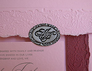 Stationery, pink, Invitations, Papel vivo, Seal