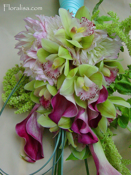 Flowers & Decor, purple, green, Flowers, Floralisa weddings