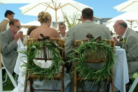 Reception, Flowers & Decor, green, brown, Flowers, Chair
