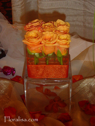 Flowers & Decor, orange, Flowers, Floralisa weddings