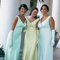 Bridesmaids, Bridesmaids Dresses, Fashion, blue, green, Chrissy o fashion and bridal boutique
