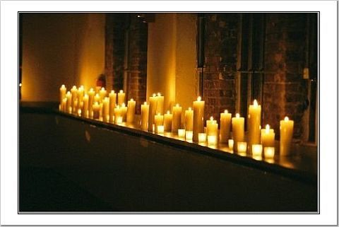 Lighting, Candles
