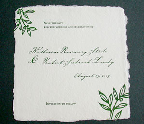 Stationery, green, Invitations, Leaf, Papel vivo