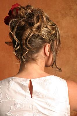 Beauty, Updo, Hair