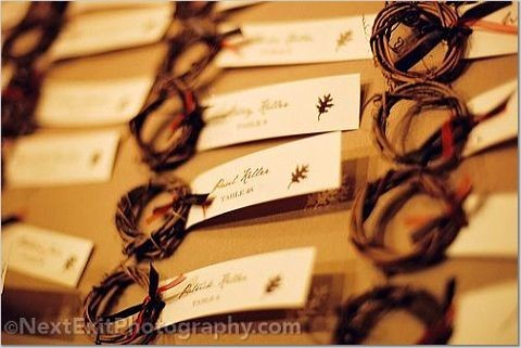 Fall, Name cards