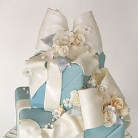 Cakes, blue, cake, Tiffany