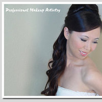 Beauty, Makeup, Half-up, Hair, Professional makeup artistry