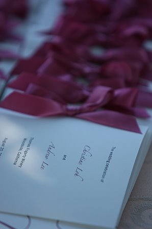 Stationery, Ceremony Programs, Program, Crystal, Ribbon, Booklet