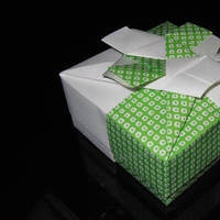 Favors & Gifts, green, Favors