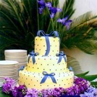Cakes, yellow, blue, cake, The cake collection