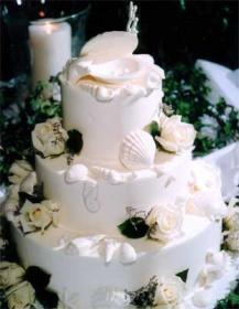 Cakes, white, cake, Beach, Beach Wedding Cakes, The cake collection