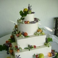 Cakes, green, cake, Fruit, Decadence