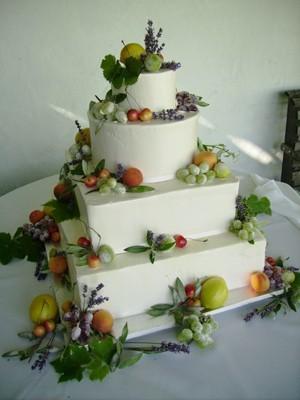 Cakes, green, cake, Fruit, Decadence