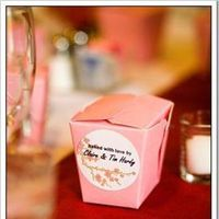 Favors & Gifts, pink, red, Favors