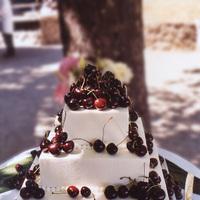 Cakes, red, cake, Carolyn wong custom cakes desserts, Cherries