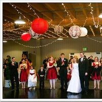 Reception, Flowers & Decor, Decor, red, Lighting, Lanterns