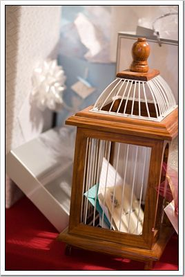 Gifts, Guestbook, Birdcage