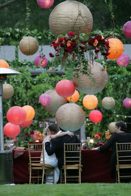 Reception, Flowers & Decor, Decor, red, Sasha souza events, Lanterns