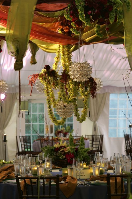 Reception, Flowers & Decor, green, Flowers, Sasha souza events