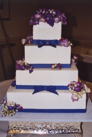 Cakes, purple, blue, cake, Carolyn wong custom cakes desserts