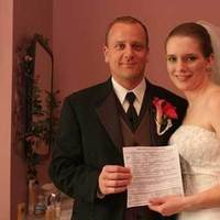 Bride, Groom, Wedding, License