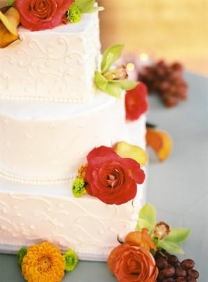 Cakes, orange, cake, Decadence
