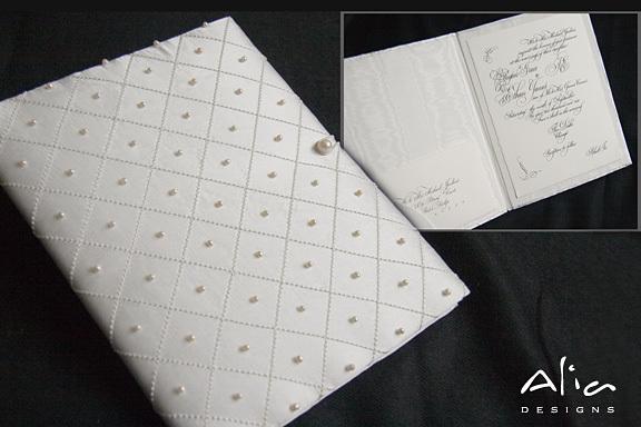 Stationery, white, Invitations