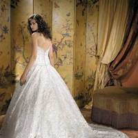 Wedding Dresses, Lace Wedding Dresses, Fashion, dress, Train, Lace, Allure Bridals