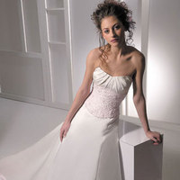 Wedding Dresses, Fashion, pink, dress, Allure Bridals, Straples
