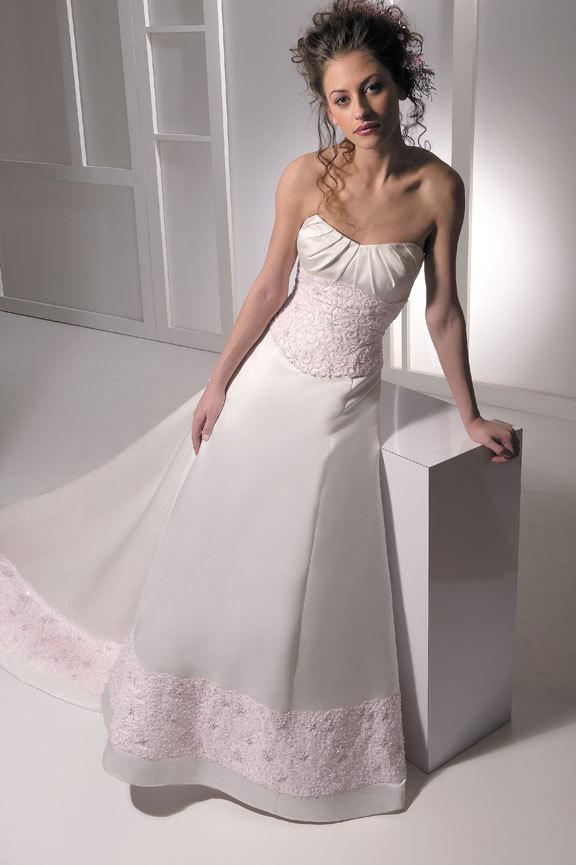 Wedding Dresses, Fashion, pink, dress, Allure Bridals, Straples